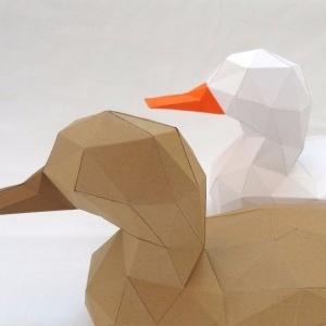 مجسمه مقوایی اردک