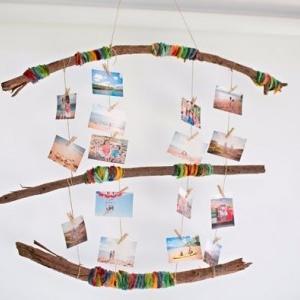 آویز عکس برای اتاق کودک