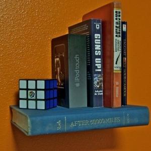 آموزش ساخت قفسه کتاب نامرئی