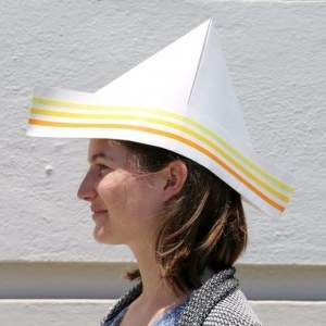 آموزش ساخت کلاه کاغذی (کلاه ملوانی)