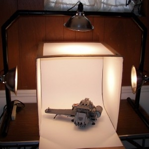 آموزش ساخت جعبه نورپردازی