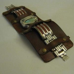 آموزش دستبند چرمی برای ساعت