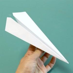 آموزش ساخت موشک کاغذی سریع
