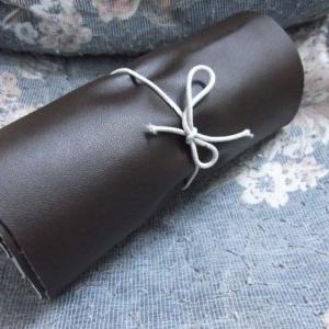 آموزش کیف چرمی برای مداد (نمونه اول)