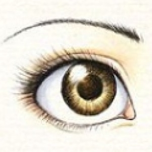 آموزش کشیدن چشم2