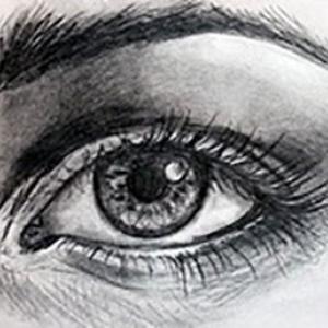 آموزش کشیدن چشم4