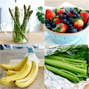 آموزش تازه نگه داشتن میوه و سبزیجات