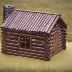 آموزش ساخت کلبه چوبی با کاغذ