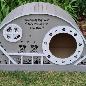 آموزش ساخت خانه لوکس سگ